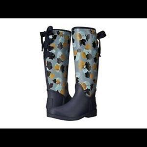 COACH Tristee Classic Flower Print Rain Boots!